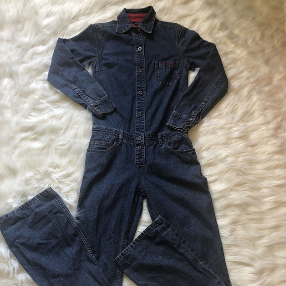 Tommy Jeans Jumpsuit Denim Women's Small VTG